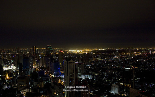 Bangkok Night Scene wallpaper_wide
