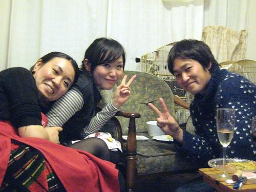 Saori, Harumi y Gen