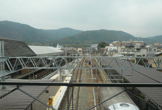All donuted and shopped out, we met up with the folks and made our way to todays destination, Arashiyama!