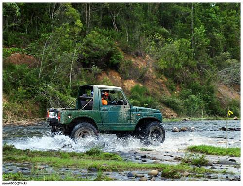 Tambunan 4x4 Challenge - Kampung Karanaan - Suzuki 4x4 SJ410