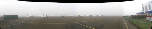 CYYJ Fog Panorama