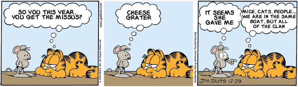 Garfield: Lost in Translation, December 29, 2009