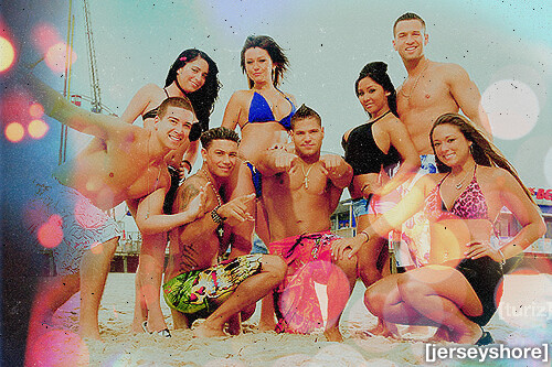 Jersey Shore Cast. by turizzz.