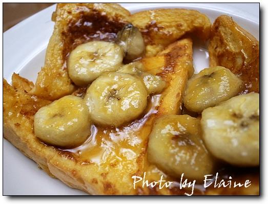 法式香蕉吐司