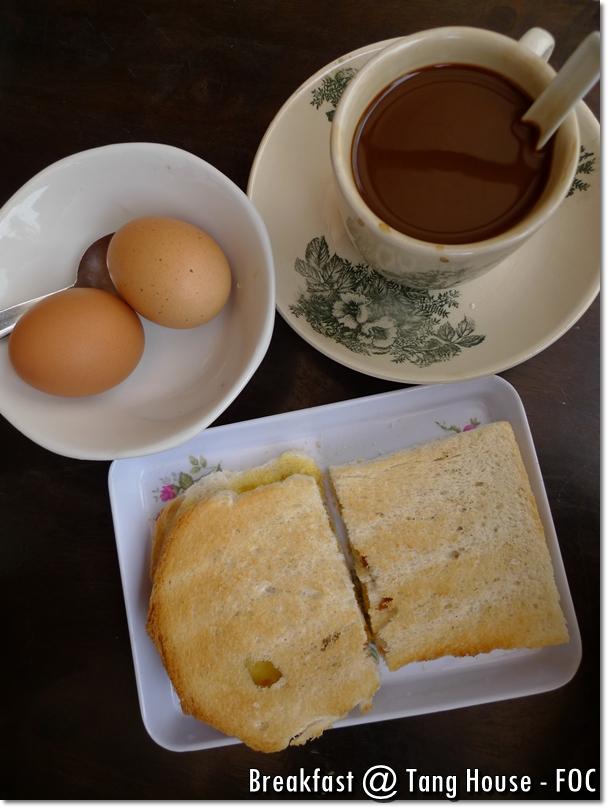 Tang House Melaka - Breakfast