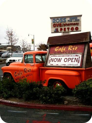 Cafe Rio Truck