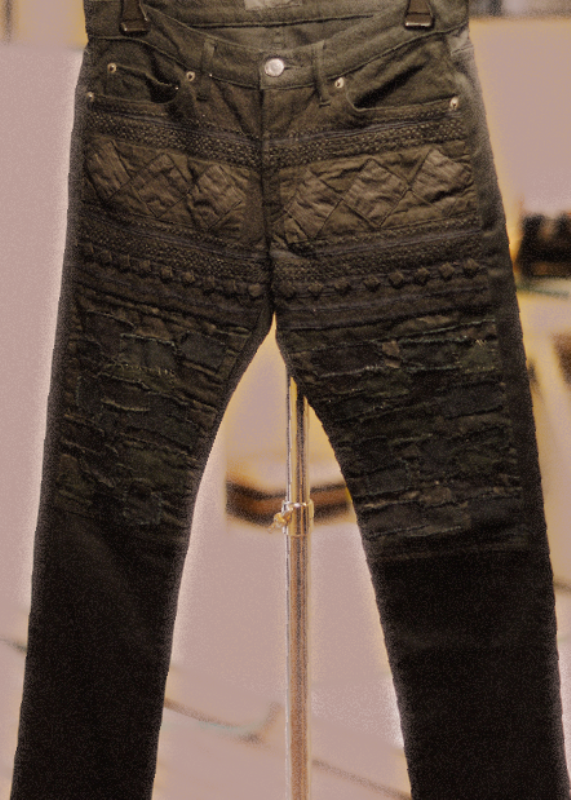 Stitched pants by Undercover