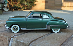 Model: 1949 Oldsmobile 88 2-Door Coupe (4 of 10) (myoldpostcards) Tags: auto cars scale car model classiccar vintagecar automobile gm antiquecar models hobby collection 124 autos oldcar 88 coupe collectibles 1949 oldsmobile modelcars modelcar generalmotors 2door eightyeight motorvehicle rocket88 danburymint collectiblecar myoldpostcards vonliski