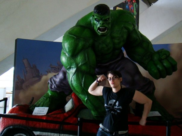 I don't photoshop my arms, I just have a large daily protein intake! :P