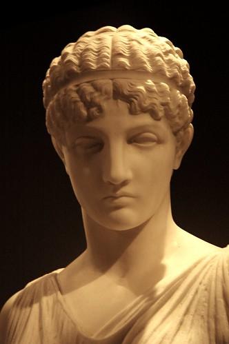 Ancient Greek Women Statues
