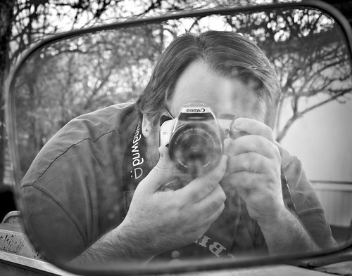 Self Portrait in Old Mirror