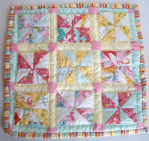 Pinwheel Doll Quilt