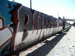 burst (graffiti oakland) Tags: train graffiti oakland burst mbt freight tsg