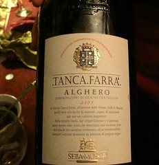 lovely wine we drank at Christmas