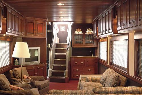 Private Rail Car - Observatory, lounge