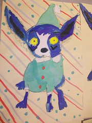 Sadie, 2nd grade (leahcp) Tags: art george grade bluedog elementary rodrigue 1st4th