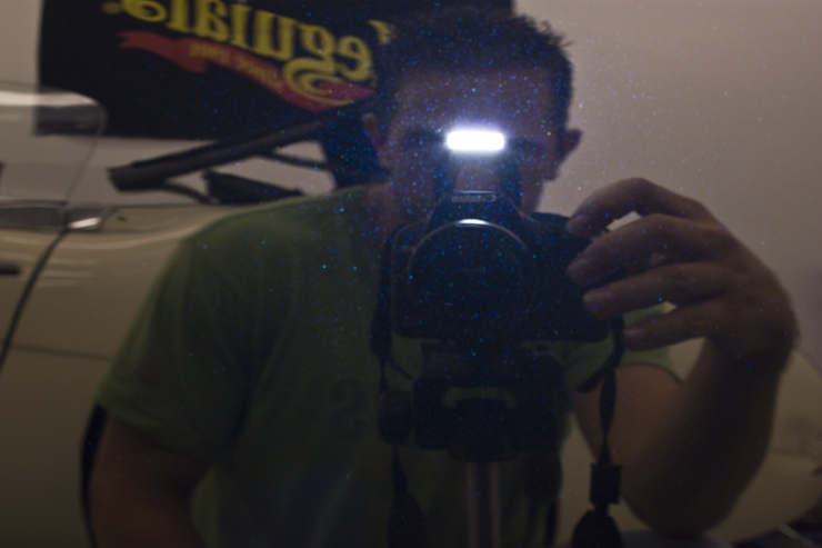 Acura RL Brinkmann reflection photo