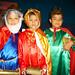 Julio Montalvo, Juan Daniel Aguirre y Jared Martínez, divertidos Reyes Magos.