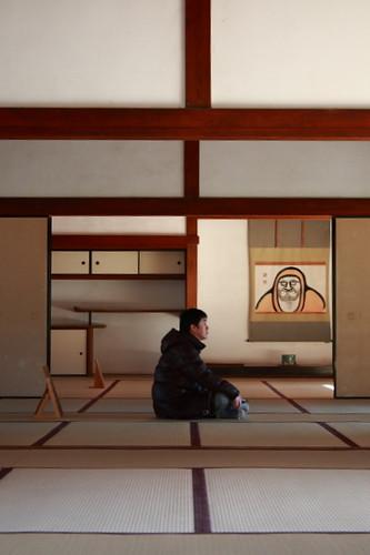 Man zen'ing in Tenryuji, Kyoto