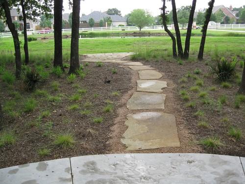 Frontyard yard landscaping