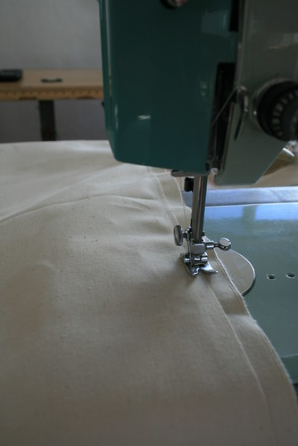 Starting a French Seam