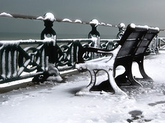 Snowy Promenade, Brighton