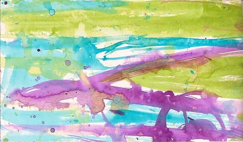 acrylic ink background