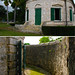 Dry moat