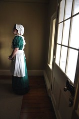 Vermeer Would Be Proud (Trish Mayo) Tags: light costume reenactor washingtonheights livinghistory morrisjumelmansion vermeerlike thebestofday gnneniyisi coloniallife