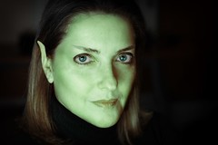 virtual vulcan (helen sotiriadis) Tags: startrek portrait selfportrait green face canon eyes published ears sp spock vulcan eyebrows trekkie canonef50mmf14usm livelongandprosper liveview canoneos40d remoteliveview imlearningphotoshop toomanytribbles diftorhehsmusma sothecatchlightsaretoo thelightsfromthemonitoronly ivegotamigrainenow