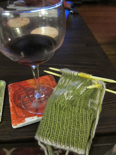 17 - Knitting & wine