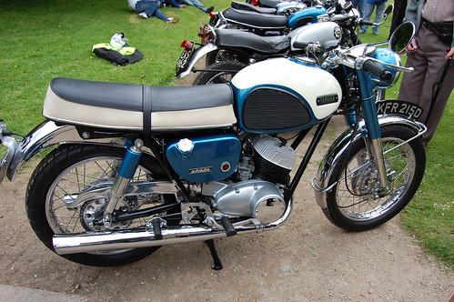 classic motorbike motorcycle yamaha japaneese yds3