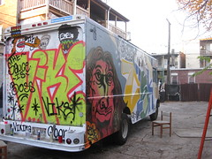 The Sauce is Boss. (SKIRT CHASER ONER) Tags: baby chicago truck graffiti sweet rays viking goons vike clok brooksgolden