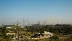 A DVC power substation. (Soumya Sen) Tags: dvc westbengal maithon