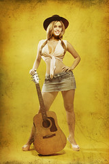 Pin-up (Guerrilha Photo Studio[]!) Tags: guitar country western cowgirl pinup
