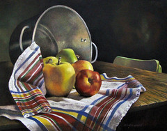 The Old Soup Pot (gossamerpromise) Tags: stilllife art painting drawing prismacolor coloredpencil sharingart