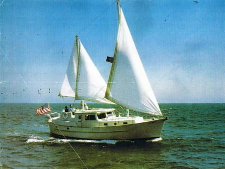 yacht trawler willard
