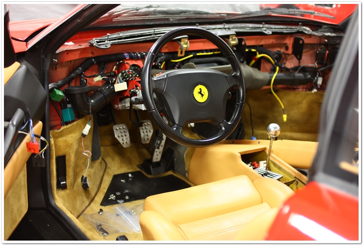 ferrari 355 gts mini-restoration detail | ask a pro blog, Wiring diagram