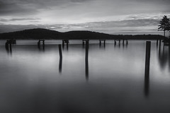 coffee run (Dene' Miles) Tags: world ocean camera longexposure winter sea usa tree nature water coffee beautiful photoshop landscape outdoors photography harbor nikon scenery unitedstates tripod scenic picture roadtrip hike photograph pacificnorthwest northamerica pugetsound pilings anacortes washingtonstate popular majestic flickrfriends antisocial eyecandy 2010 wideanglelens 6stopndfilter denemiles