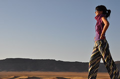 Deserto do Sahara (Carla Arakaki) Tags: sky sun sol sahara desert cu morocco carol zagora deserto marrocos nikond90