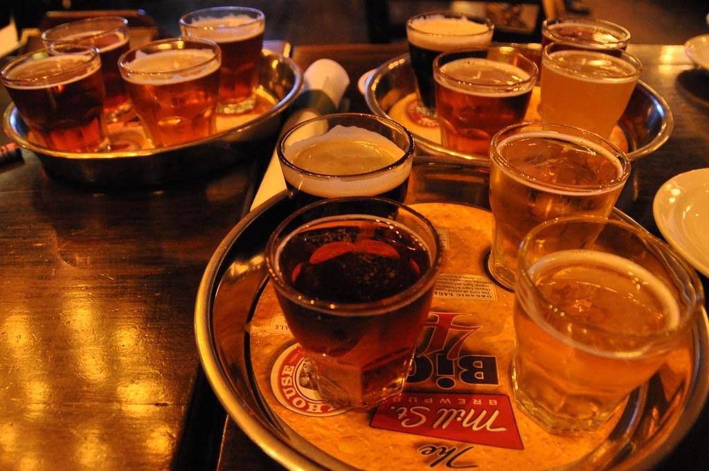 beer sampling on a friday night!