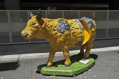 CowParade (Cekna) Tags: de com feita chiclets caixas vaquinha