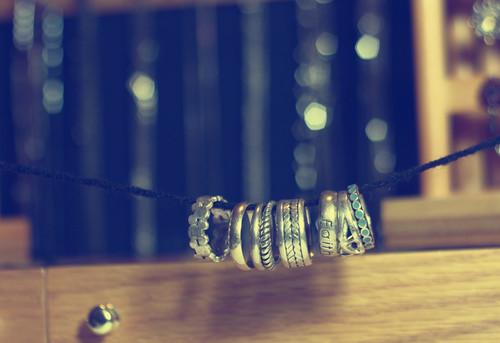 {24:365} silver rings