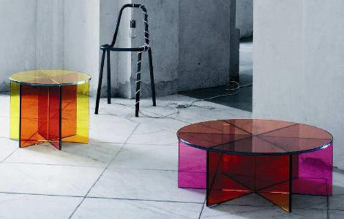 Glas Italia tables - XXX series