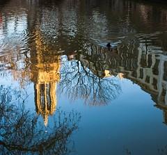 Domtoren Utrecht: Reflections No.2 (T.a.k.e.s.h.i) Tags: holland reflection netherlands utrecht domtoren