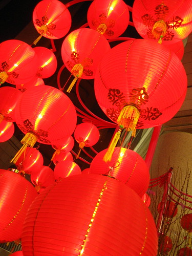 Chinese New Year Props @ Times Square, Hong Kong