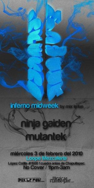 Inferno Midweek 03 febrero
