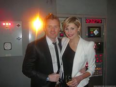 James Midgley & Jenni Falconer @ Sky HD LOST Launch
