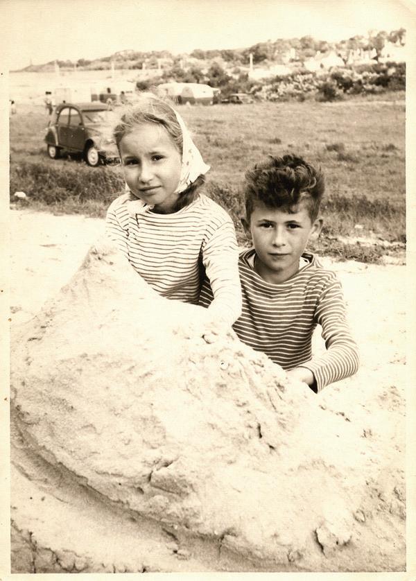 Mon papa et sa petite soeur...