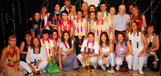 Foto de grupo con Vicente Ferrer